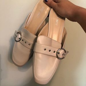 Nine West Cream Loafers